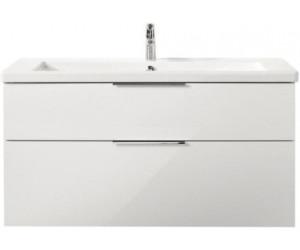 Turbo Burgbad Eqio Keramik-Waschtisch inkl. Waschtischunterschrank QX17