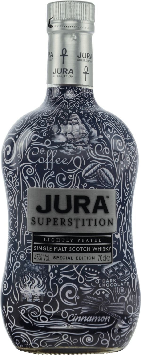 Isle of Jura Superstition Tattoo Edition 0,7l 43%