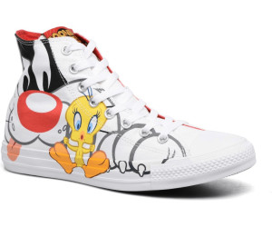 375f1ac86bc3 ... Rivalry Collection white black tweety. Converse Chuck Taylor All Star  Looney Tunes Hi
