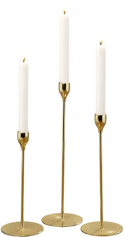 Mørteens Kerzenhalter Lamborn 3-tlg. Metall gold