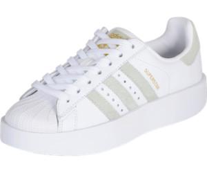 Adidas Superstar Bold Platform W footwear white/linen green/gold metallic