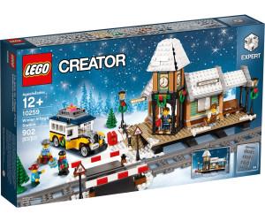 LEGO Winterlicher Bahnhof (10259)