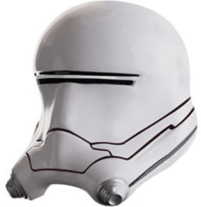 Image of Rubie's Deluxe Maschera Stormtrooper 2 pezzi (32307)