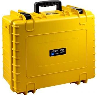 #B&W Outdoor Case Typ 6000 GoPro Karma Inlay gelb#