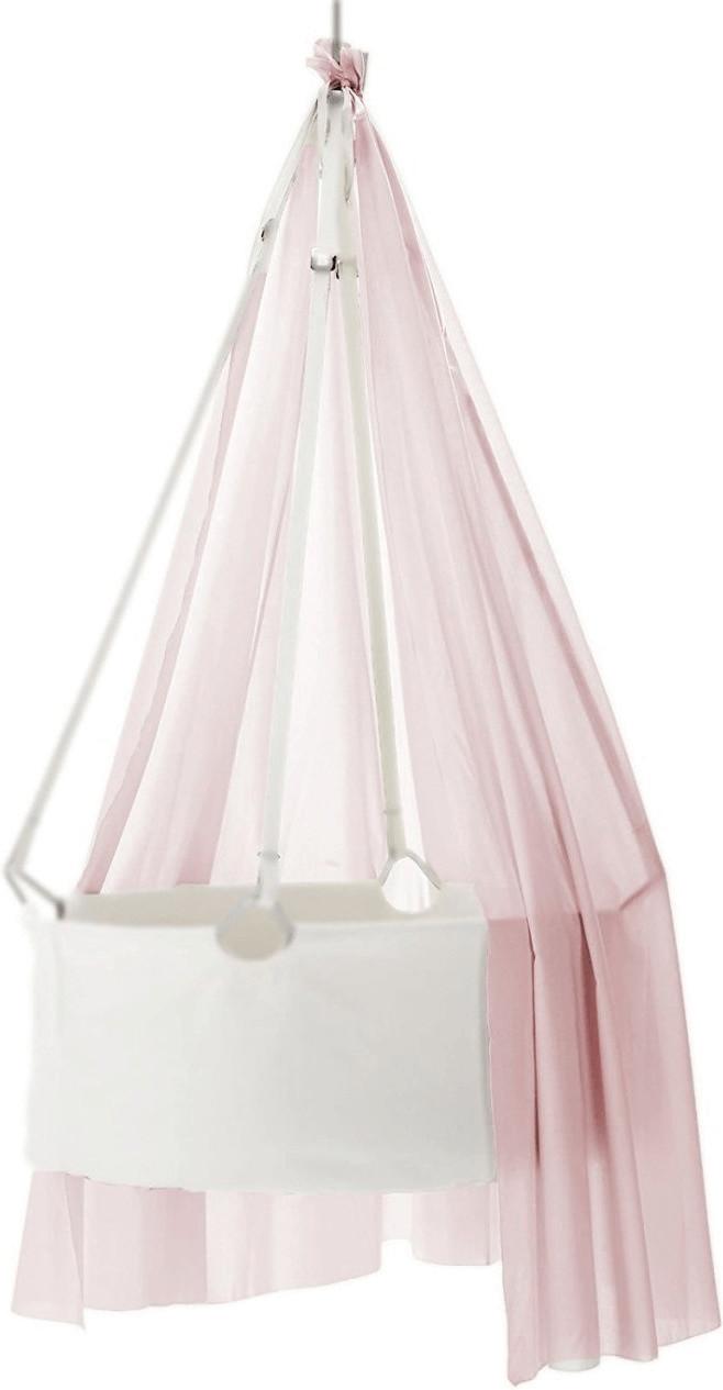 Leander Himmel für Babywiege soft pink