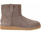 UGG Leder-Boots Classic Unlined Mini in Rotbraun - 53% QRDamvYP