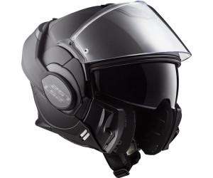 Schwarz Größe S LS2 Motorradhelm VALIANT