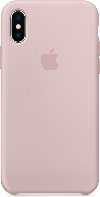 Apple Silikon Case (iPhone X) sandrosa
