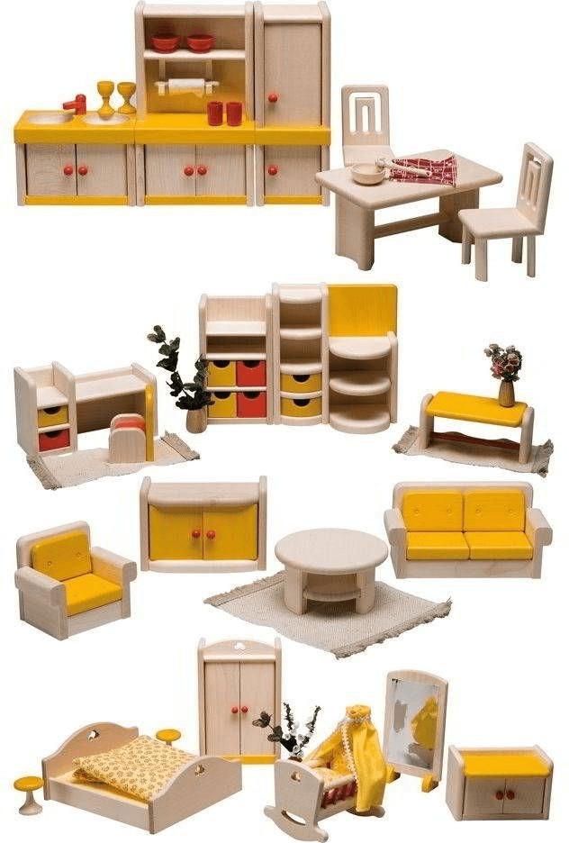 Rülke Puppenhaus Möbelset für Filius (23611)