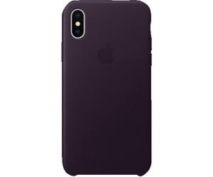 Custodia Apple - iPhone X \\ Rosa fucsia in pelle