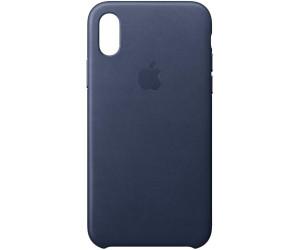 APPLE Cover in Silicone per iPhone X Blu Notte
