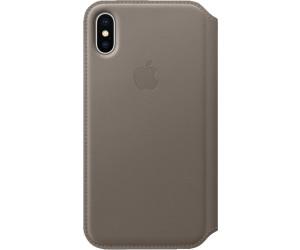 apple etui folio cuir iphone x