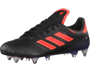 Buy Adidas Copa 17.1 SG core black/solar red from £42.80 ...