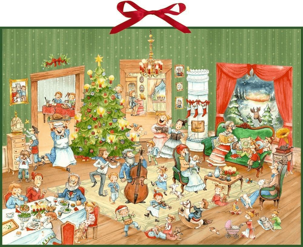 Coppenrath Adventskalender Wimmelige Weihnachtsfeier