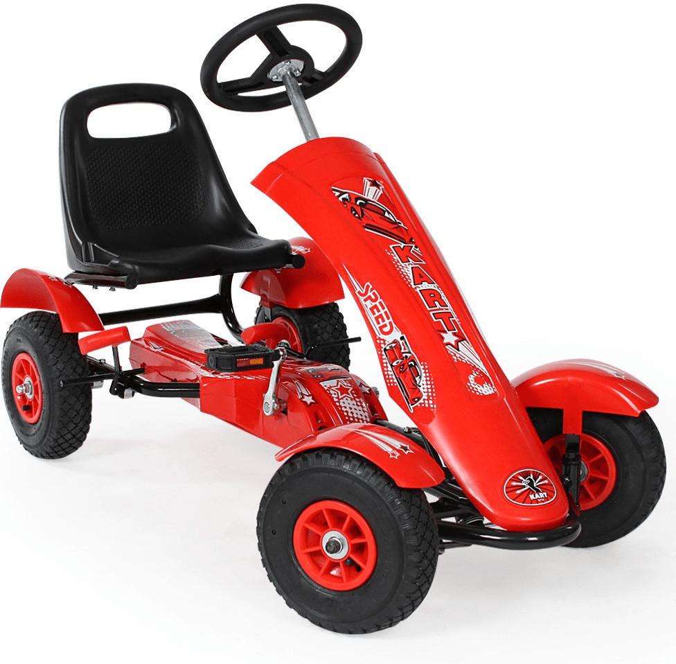 TecTake Go-Kart 1 Sitz rot