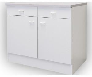 centa unterschrank salina 100cm wei ab 52 00 preisvergleich bei. Black Bedroom Furniture Sets. Home Design Ideas