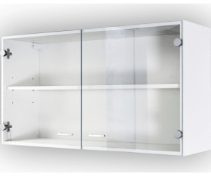 centa glas h ngeschrank salina 100cm wei ab 49 00 preisvergleich bei. Black Bedroom Furniture Sets. Home Design Ideas