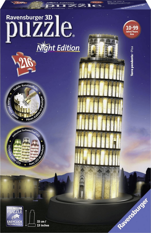 Leaning Tower of Pisa puzle 3D, Puzzle