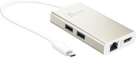 Image of j5create 4 Port HDMI Ethernet USB3.0 Hub (JCA374)