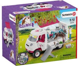 Schleich Horse Club Mobile Tierärztin mit Hannoveraner Fohlen