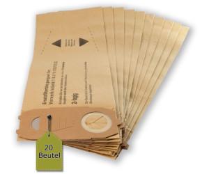 10 Filtertüten Beutel geeignet Vorwerk Kobold 118