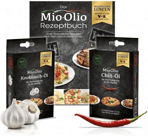 Mio-Olio Rapsöl Knoblauch & Chilli (je 10 Stk.)...