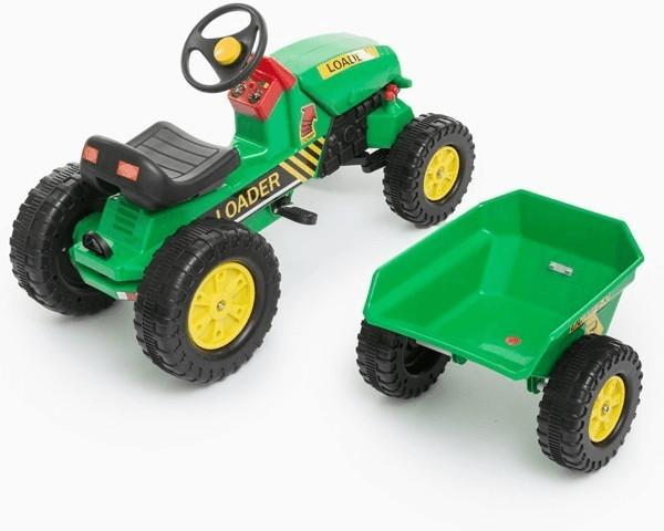 BigBuy Farm Loader Traktor mit Anhänger