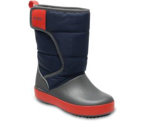 Crocs - Kid's LodgePoint Snow Boot - Winterschuhe Gr C11 schwarz ytbd5f0G