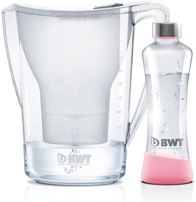 BWT Penguin Gourmet Edition weiß 2,7 L inkl. Glasflasche Myequa