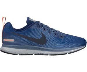 Nike AIR ZOOM PEGASUS 34 SHIELD Noir / Bleu jUJIvPt9