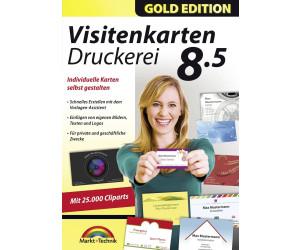 Markt+Technik Visitenkarten Druckerei 8.5