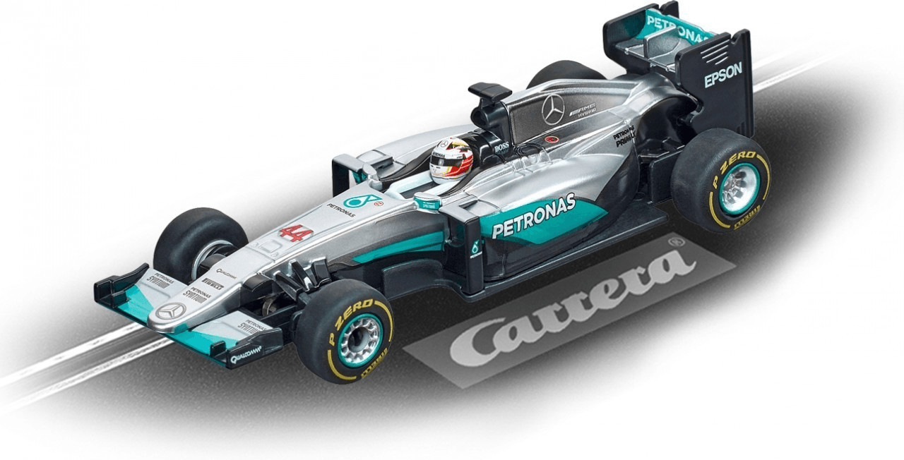 Carrera GO!!! Mercedes F1 W07 Hybrid ´´L.Hamilton, No.44´´