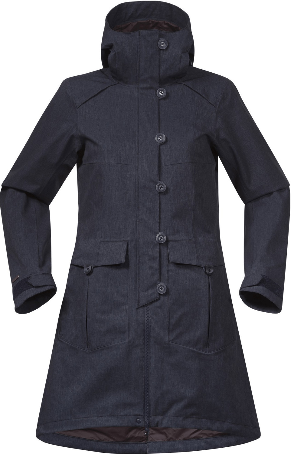 Bergans Bjerke 3in1 Lady Jacket dark navy/ cocoa melange