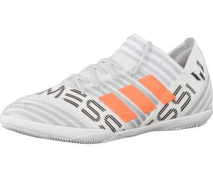 adidas Nemeziz Messi Tango 17.3 in, Chaussures de Football Garçon, Bleu (Footwear White/Legend Ink/Energy Blue), 33 EU