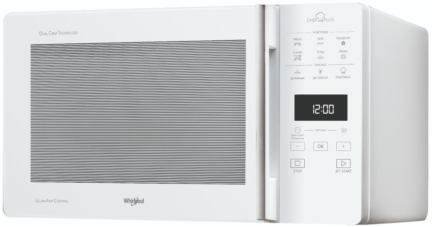 Whirlpool Microwave Oven MCP349WH with Grill and Cooking Steam Capacity 25 Li