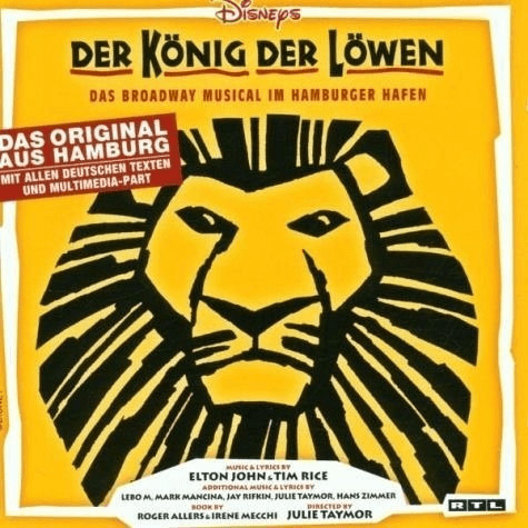 Elton John/Tim Rive - Der König Der Löwen