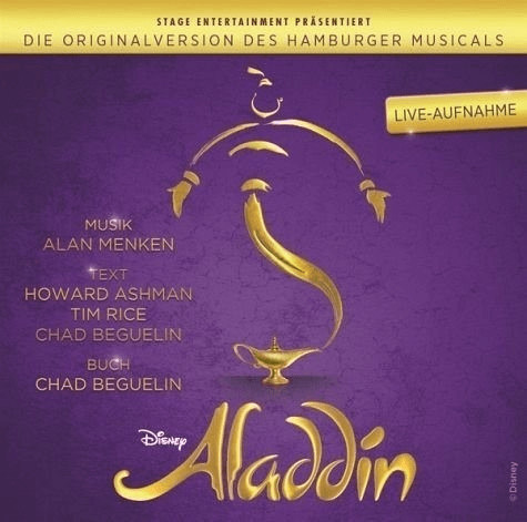 Aladdin - Die Originalversion des Hamburger Mus...