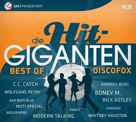 Die Hit Giganten Best Of Discofox (CD)