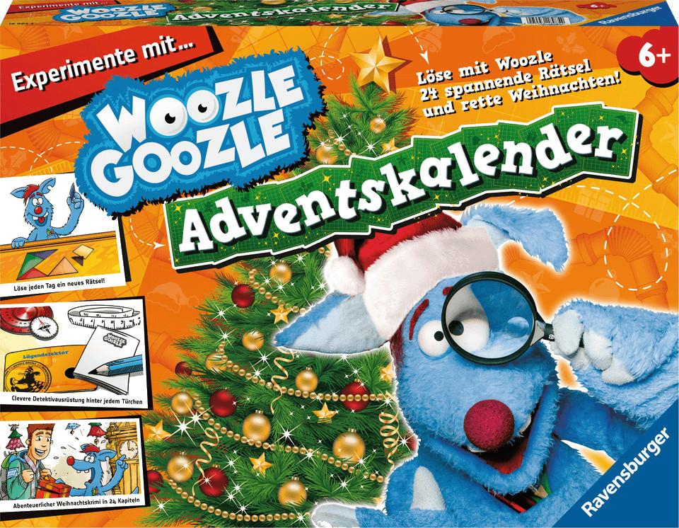 ravensburger woozle goozle adventskalender ab 1999