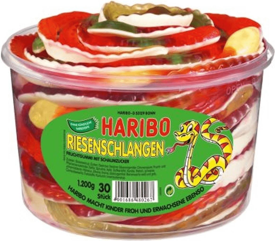 Haribo Riesen-Schlangen (1200 g)