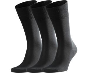 tolle sorten Rabatt bis zu 60% neuer & gebrauchter designer Falke Tiago 3er Pack Socken schwarz (13009-300005) ab 33,65 ...
