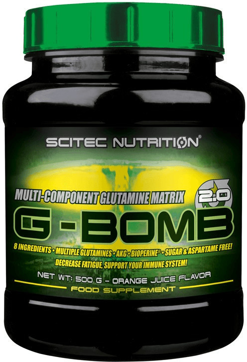 Scitec Nutrition G-Bomb 2.0 500g Orange Juice