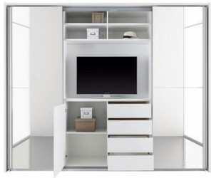 schlafzimmerschrank mit tv fach. Black Bedroom Furniture Sets. Home Design Ideas