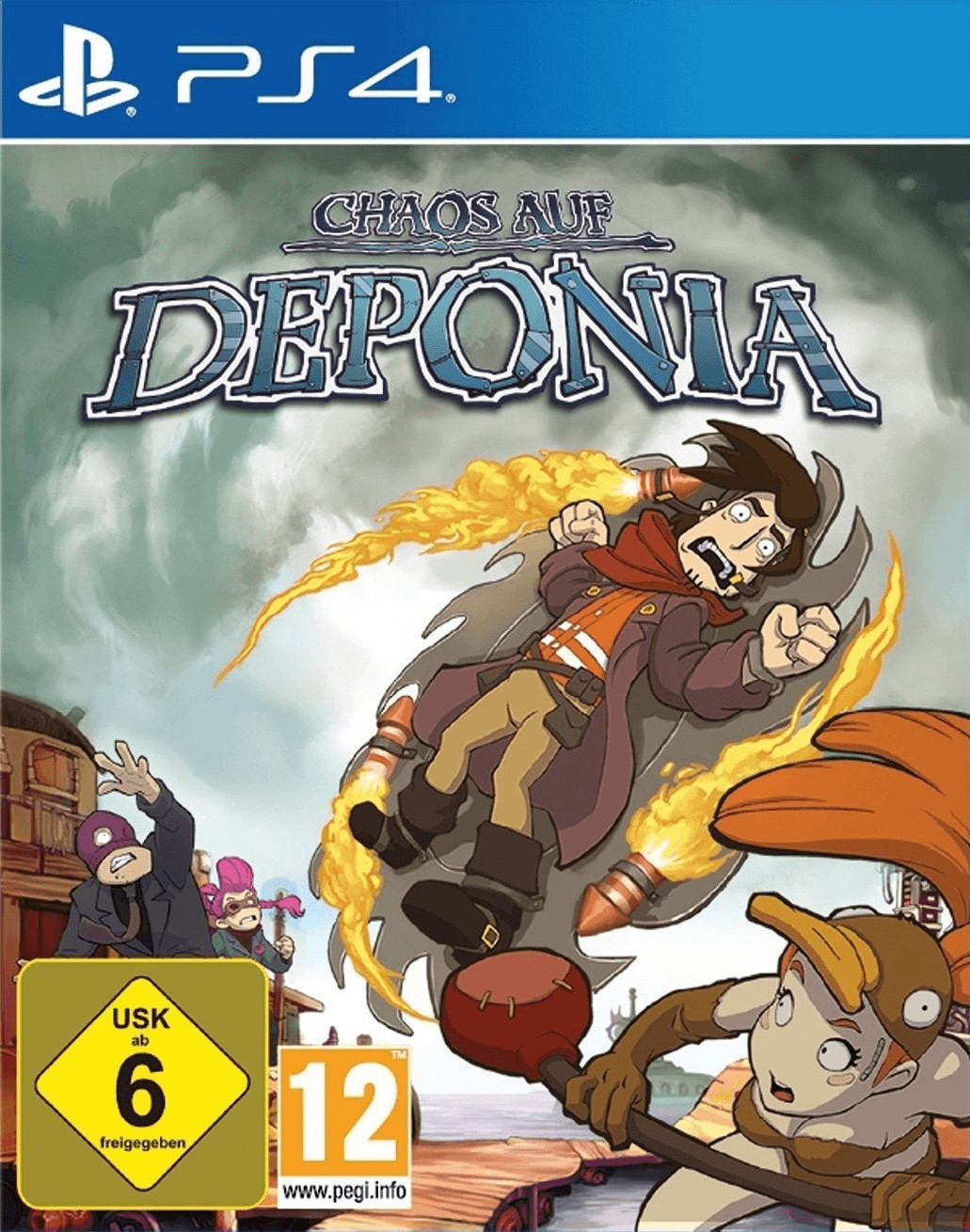Chaos auf Deponia (PS4)