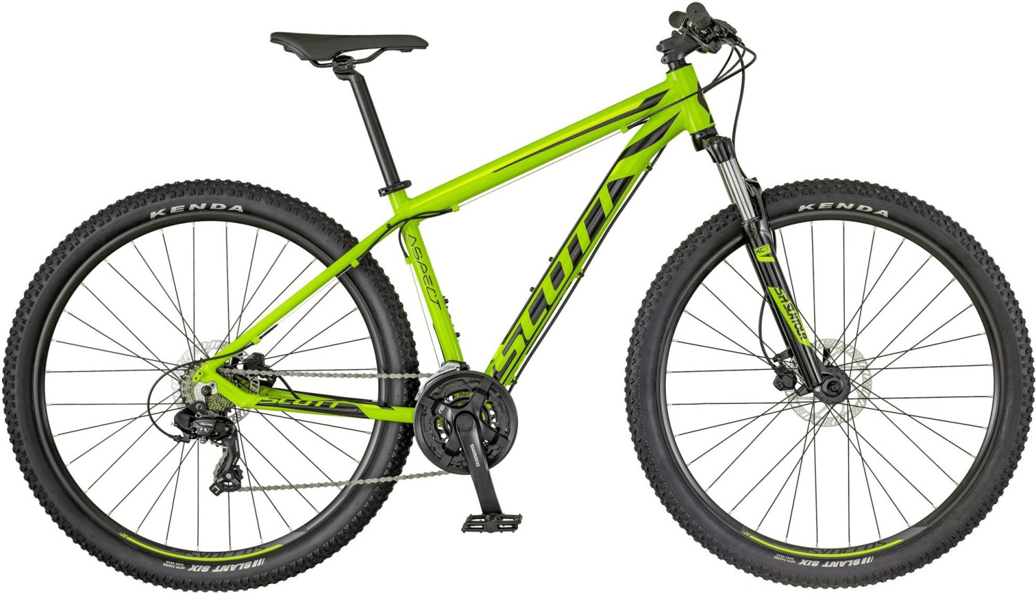 Scott Aspect 960 green/yellow (2018)