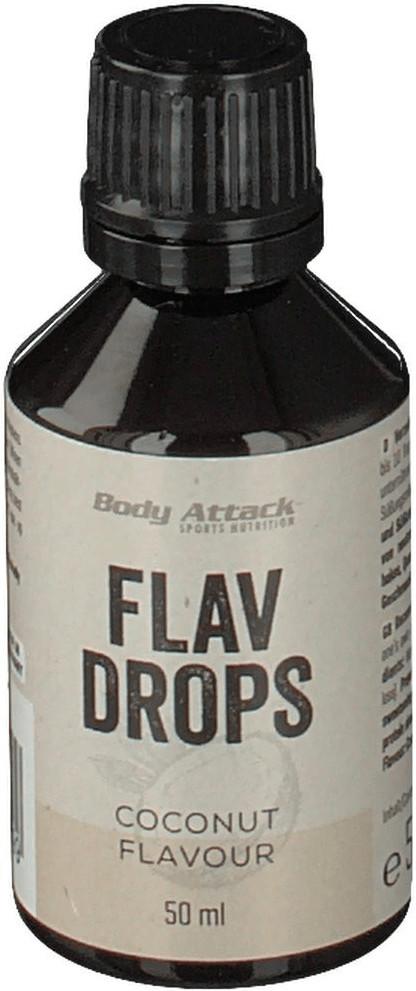 Body Attack Flav Drops 50ml Kokos