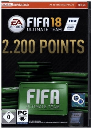 FIFA 18: Ultimate Team - 2200 Points (Add-On) (PC)