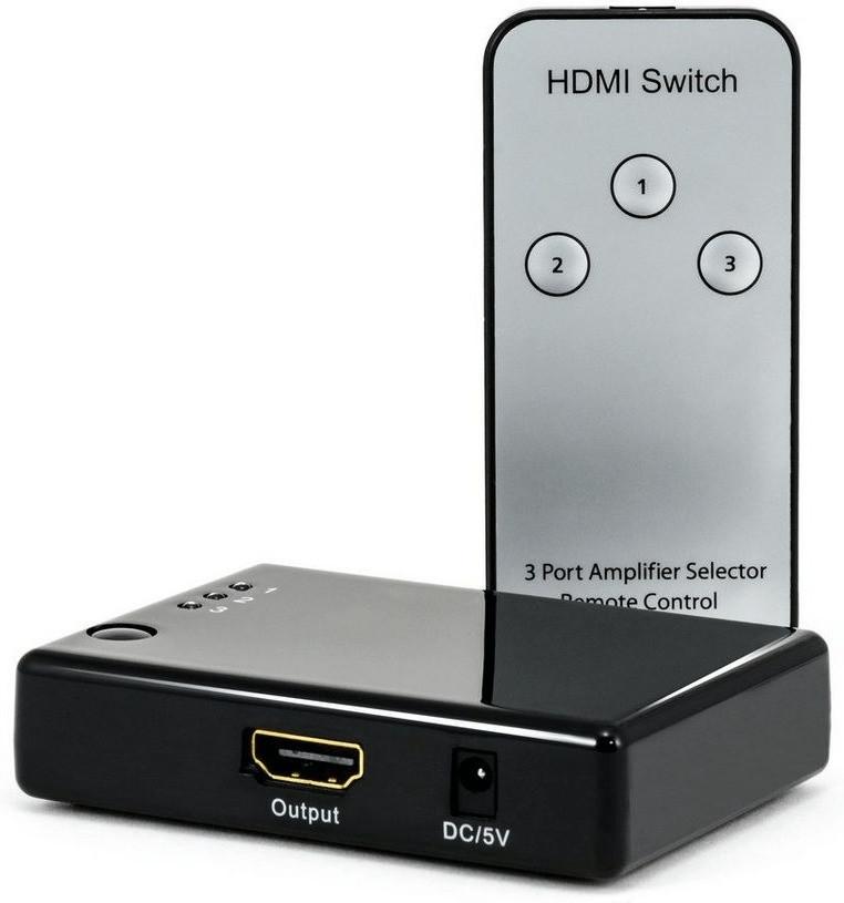 CSL 3 Port Full HD HDMI Switch (34082659)