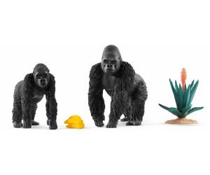 Schleich Vie sauvage mâle Gorilla Toy Figure