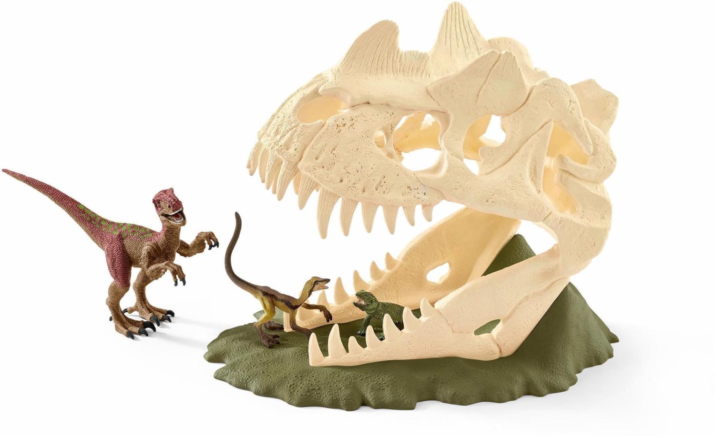 Schleich Große Schädelfalle mit Velociraptor (42348)